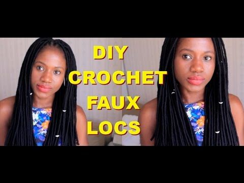 DIY: Crochet Faux Locs/ Step By Step - YouTube