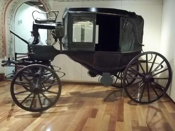 Museo de las Intervenciones de la Cd. de Mexico, un de los cuatro carruajes del Presidente Benito Juarez