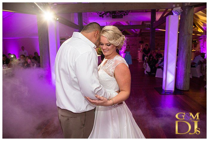 Intercontinental Sanctuary Cove || Cass & Dan's Bridal Waltz. #PurpleUplighting #weddingdjgoldcoast #weddinglighting #gmdjs #magnifiqueweddings @InterConSanc