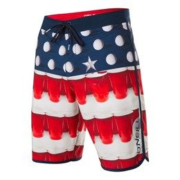 O'Neill Men's Hyperfreak Beer Pong Shorts