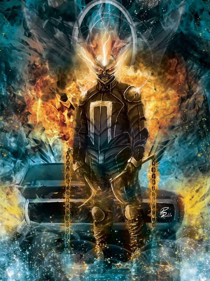 Ghost Rider by Riccardo Rullo