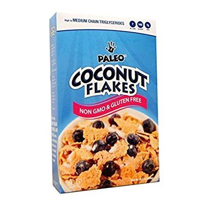 Julian Bakery Paleo Coconut Flakes (Low Carb & Gluten Free) Cereal, 10 Servings