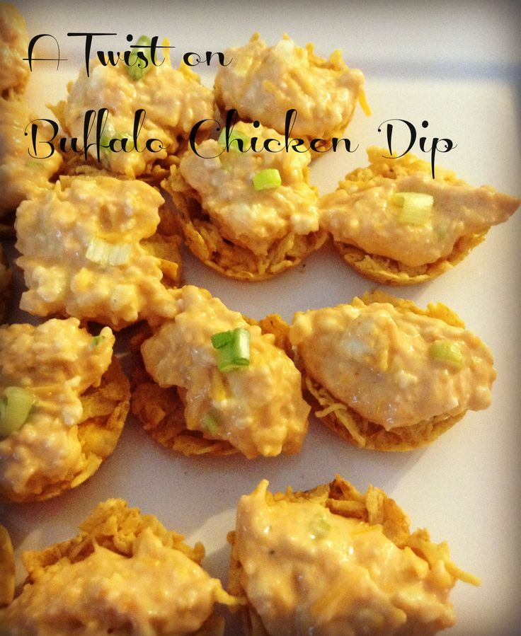 take the tail gate recipe to the up-scale party with buffalo dip with a twist
