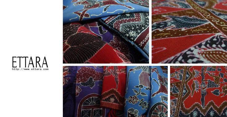 Batik on hemp
