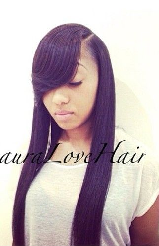 styles to do with straight hair 1000 ideas about side part weave on sew ins 8282 | 390513a947ed5f6f546222d03db76a1b