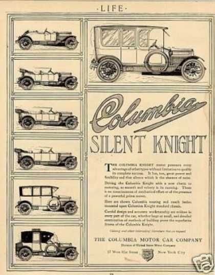 24 Best Columbia Automobile Co Car Ads Images On Pinterest