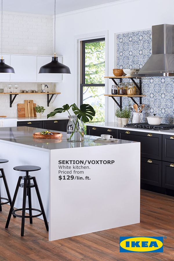 A new kitchen is served. The Kitchen Event is on until December 11th. Get $100 back in IKEA gift cards for every $1000 in kitchen  purchases.