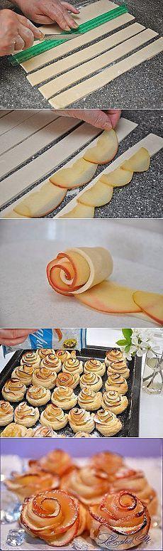 Пирог с мясом «Хризантема»: слоеное тесто, фарш, лук, специи