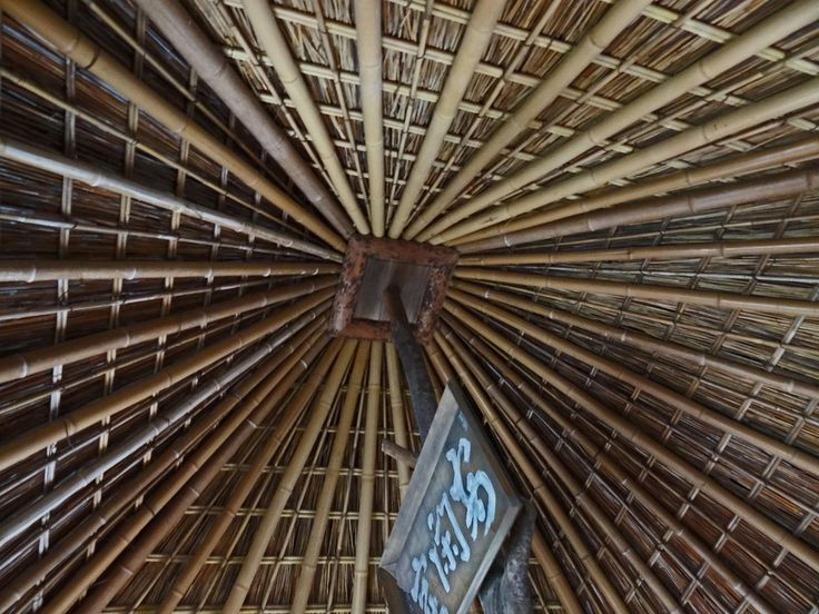 https://flic.kr/p/a1VVtZ   Kasa-Tei Roof   This teahouse, called Kasa-Tei, was designed by Japan's most famous tea master, Sen Rikyu. This tea house was made for Toyotomi Hideyoshi and was on the grounds of the orignal Fushimi Castle, which was destroyed in 1600 during the Sekigahara campaign.  When Kōdai-ji was built, the teahouse, as well as another that was design by Sen Rikyu and on the castle grounds, were moved here.  Both teahouses are considered national treasures.  Kōdai-ji is a…