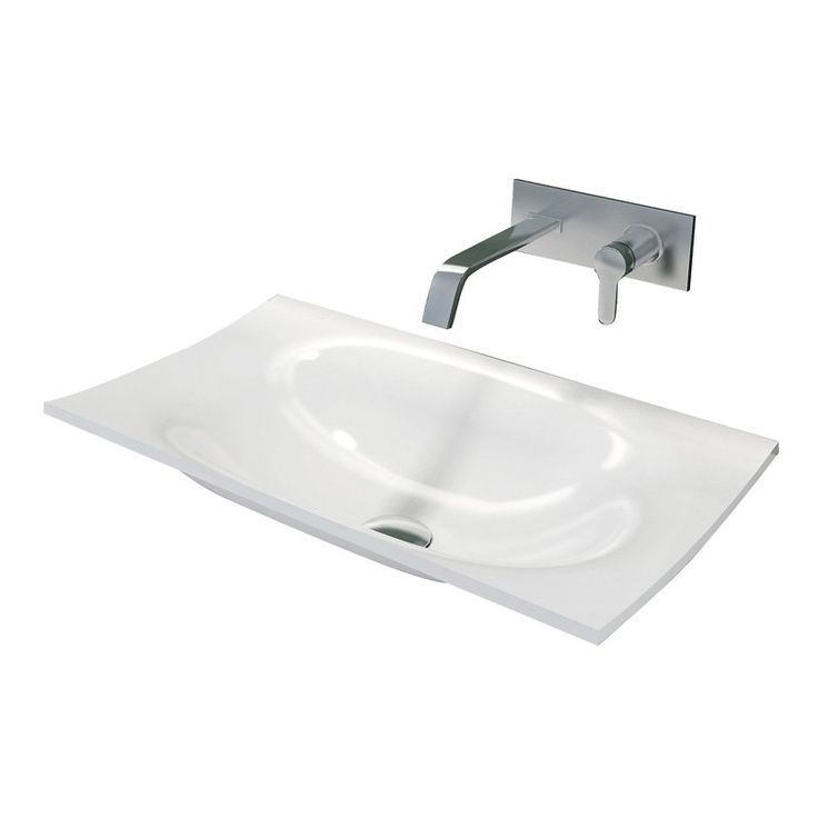 Control Brand Walter Integrated Drop In Sink Top - BW2192WHT