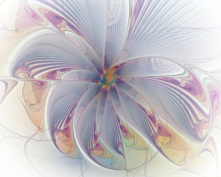 Mirrored Movement ~ Amanda Moore ~ Digital Fractal Art