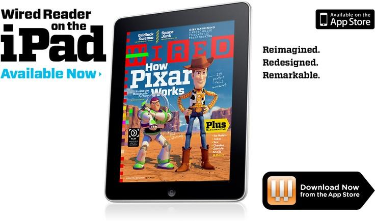 Wired Reader en el iPad