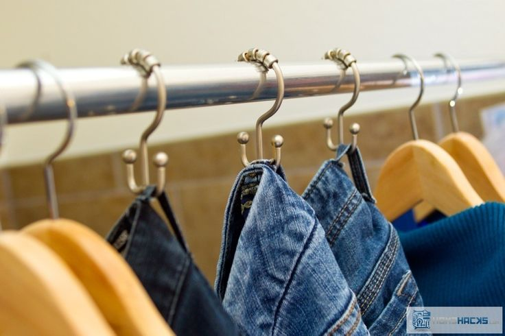 Organizing jeans in your closet can be a pain. Sure you can fold jeans and stack them on a shelf somewhere, but then grabbing a pair on the bottom turns the whole stack into a mess. Plus, it's hard to differentiate one pair from another when they're all in a stack. Instead, grab some inexpensiveRead More