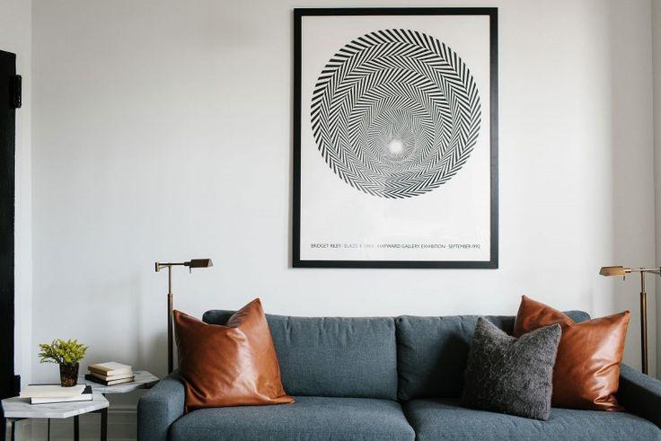 Appartement in Brooklyn met een zwart-wit interieur - Roomed