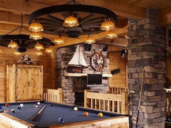 14 best Themed Man Cave images on Pinterest | Garage ideas, Idea ...