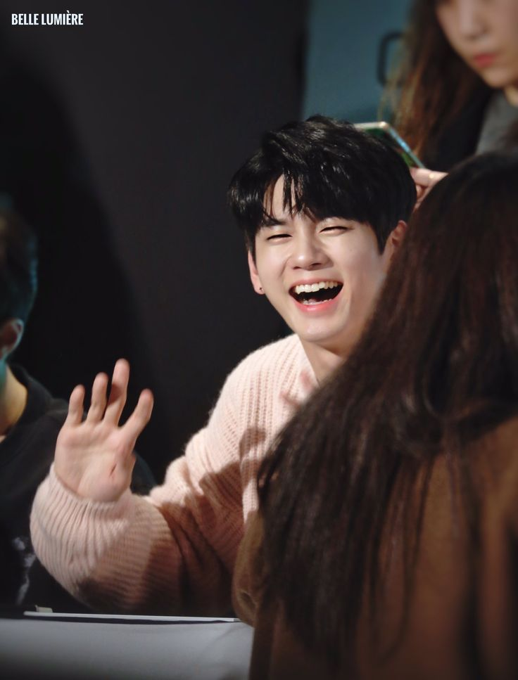 171206 Wanna One at The Clean Fansign #Ong