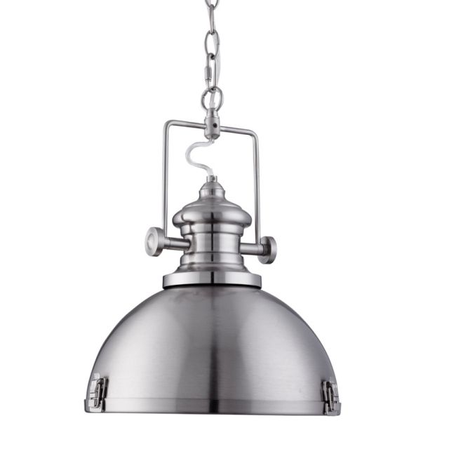 This Traditional Single Pendant Fitting From The Industrial Range By Searchlight Lighting Looks Great And Is Ideal Wherever An Old Fashioned Look