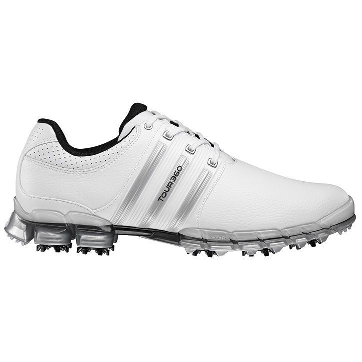 Adidas Men\u0027s Tour 360 ATV M1 White/ Golf Shoes
