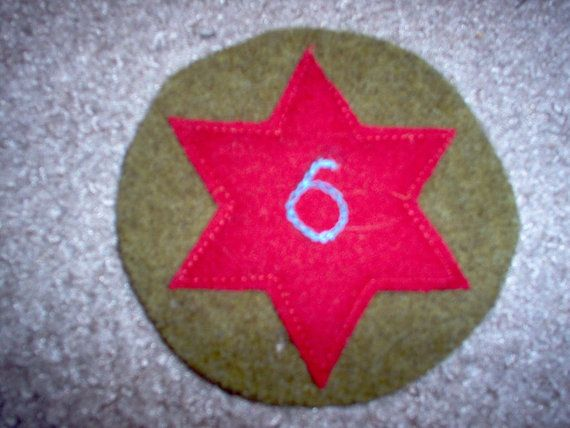 World War I WWI US Army 6th Infantry Division by LGGMilitaria