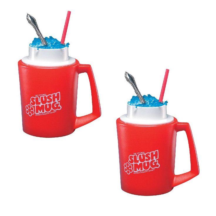 SLUSH MUGS Frozen Beverage Slushie Cups -