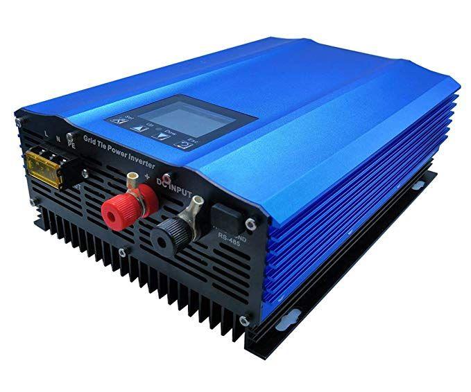 Gtn 1000g24 Grid Tie Inverter 1000w For 24v Battery Discharge Or Pv Dc Input 26v 45v Pure Sine Wave Power Inverter Ac 11 Inverter Ac Power Inverters Sine Wave