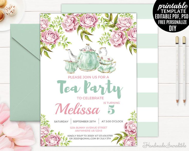 97 best Birthday Invitations images on Pinterest Birthday - birthday invitation template printable