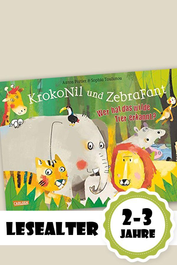 Buchtipp: KrokoNil und ZebraFant – Wer hat das wilde Tier erkannt? - Bilder