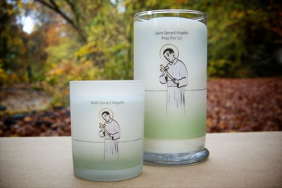 Saint Gerard Majella Fertility Prayer Candles - Set of Two  Are you or a loved one going through the disappointing and painful experience of