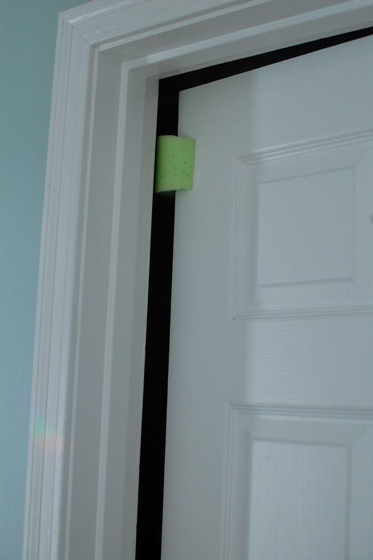 1000 images about pool noodles on pinterest door for Door wind stopper