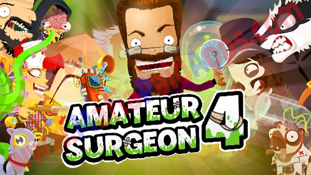 Amateur Surgeon 4 2.3.0 Mod (Unlimited Gold/Star/Gems) Apk for android    Amateur Surgeon 4is a Simulation Game for android  Download last version ofAmateur Surgeon 4Apk Mod (Unlimited Gold/Star/Gems) for android from MafiaPaidApps with direct link  Perform Surgery on over 100 patients with household tools in Amateur Surgeon: Regenerations! Its time to grab your trusty pizza cutter and start the operation!  Doctor Bleed pioneer of amateur surgery is back from the dead. Help him solve the…