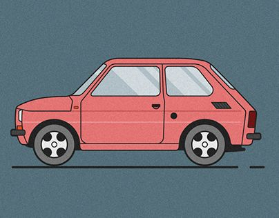 "Check out new work on my @Behance portfolio: ""Fiat 126p vector"" http://be.net/gallery/35690719/Fiat-126p-vector"
