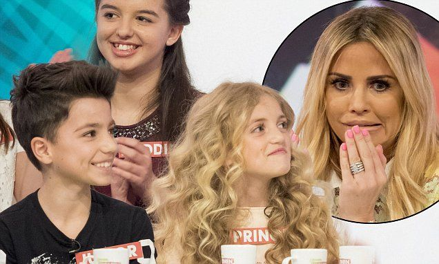 Katie Price's son Junior tells it straight on Loose Women panel debut