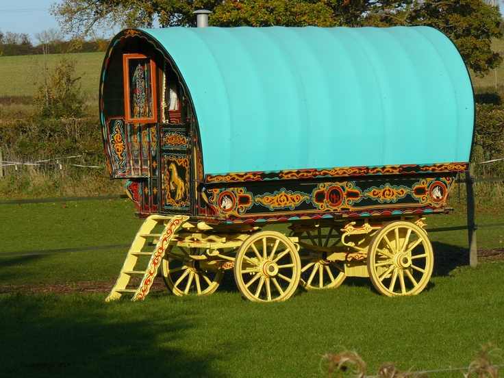 Gypsy Caravan Hotel Somerset England This Rock We