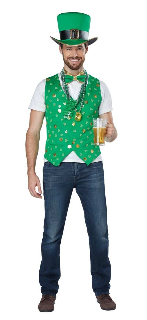 Mens Luck of the Irish Costume Kit