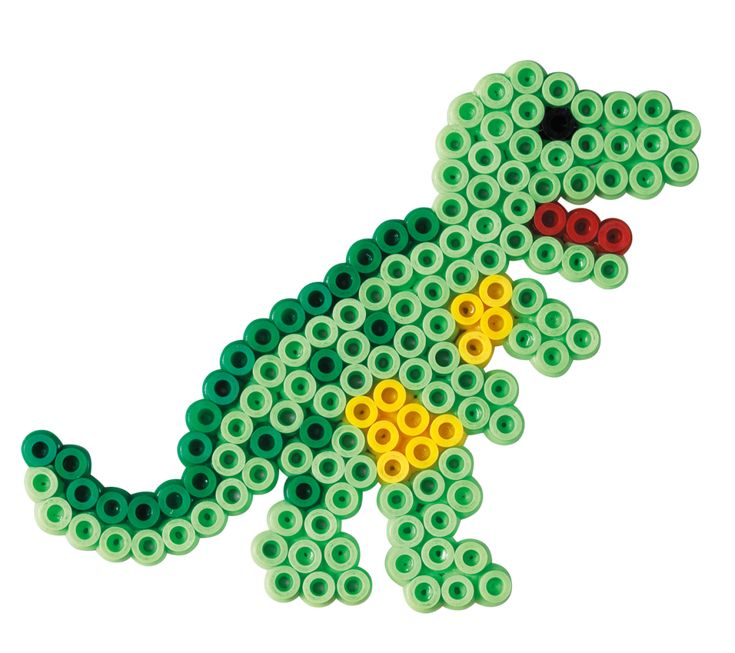 Dinosaur Hama beads - Small World - HAMA 3502