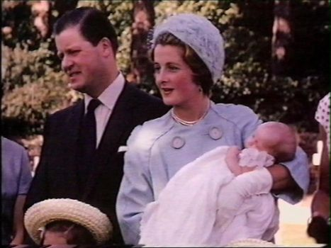 When Diana was born, her parents and extended family were so disappointed by the arrival of another female child, they did not bother to register her birth, and she is the only one of her siblings who was not given a royal godparent. They did not even give her a name until a week after her birth. Diana Frances Spencer being held by her mother at her baptism. Diana was baptised at St. Magdalene's Church at Sandringham on August 30, 1961.