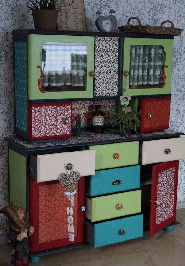 Buffetschrank❤️küchenbuffet küchenschrank vintage