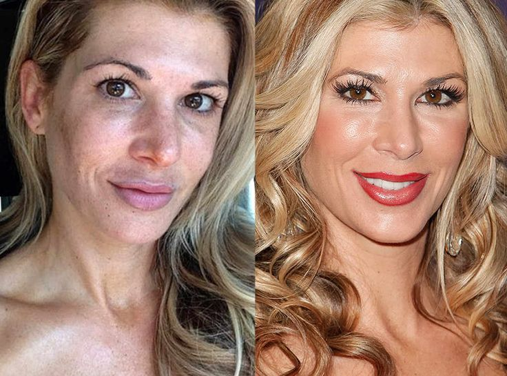 Alexis Bellino, Real Housewives of Orange County from Real Housewives: With and Without Makeup