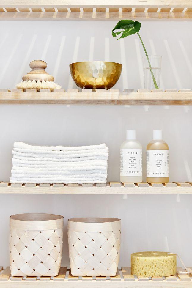 Détails d'une salle de bain relaxante