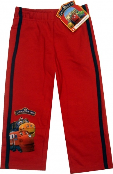 Pantalon trening oficial Chugginghton, 80% bumbac, 20% poliester.