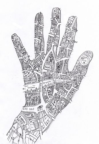Know your town (like the back of your hand) by johnefrench, via Flickr