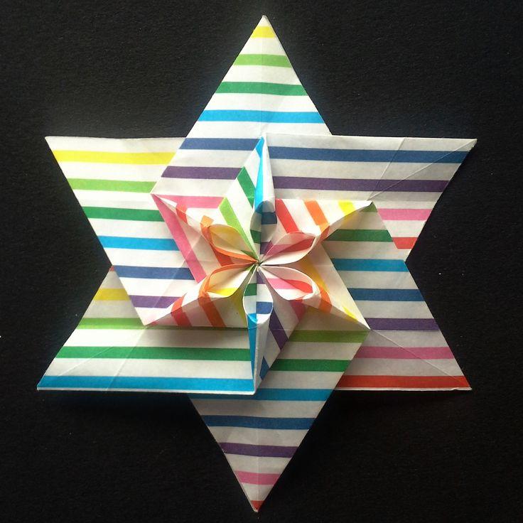 Origami Hexagonal star