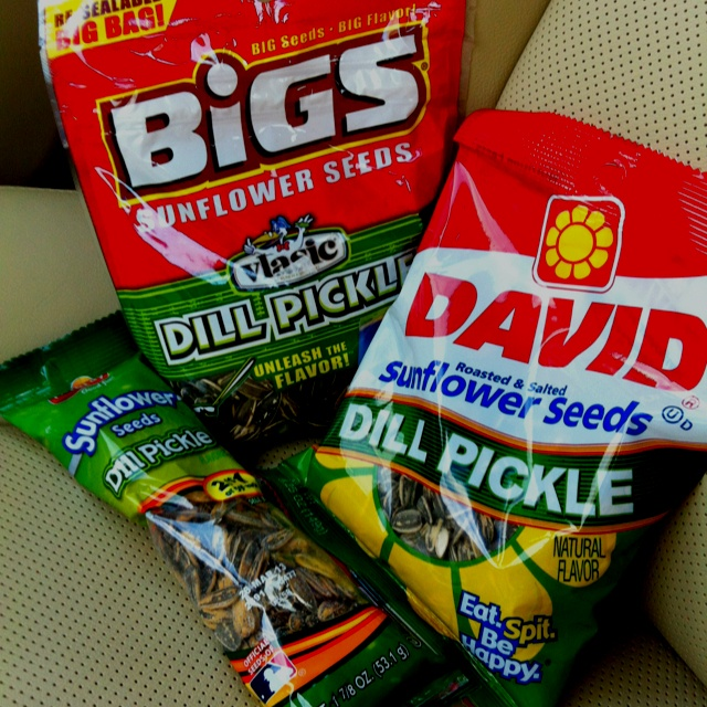 Dill Pickles Sunflower Seeds Party In My Mouth Yum