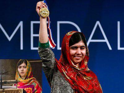 Nobel laureate Malala gets US Liberty Medal