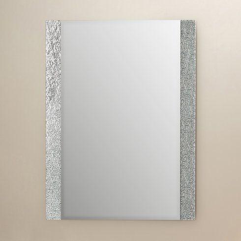 Longwell Green Frameless Wall Mirror