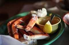I have a secret recipe from Joe's Crab Shack. This beach-themed seafood restaurant recently closed several locations across the country. Lucky for us, we have some great secret recipes so you can enjoy your favorite Joe's recipes at home. The BBQ crab legs are first steamed, then covered in a tasty spice mixture and of course served with plenty of melted butter.