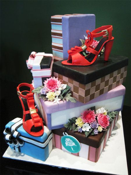 Gambar Kue Ulang Tahun Sepatu Cantik