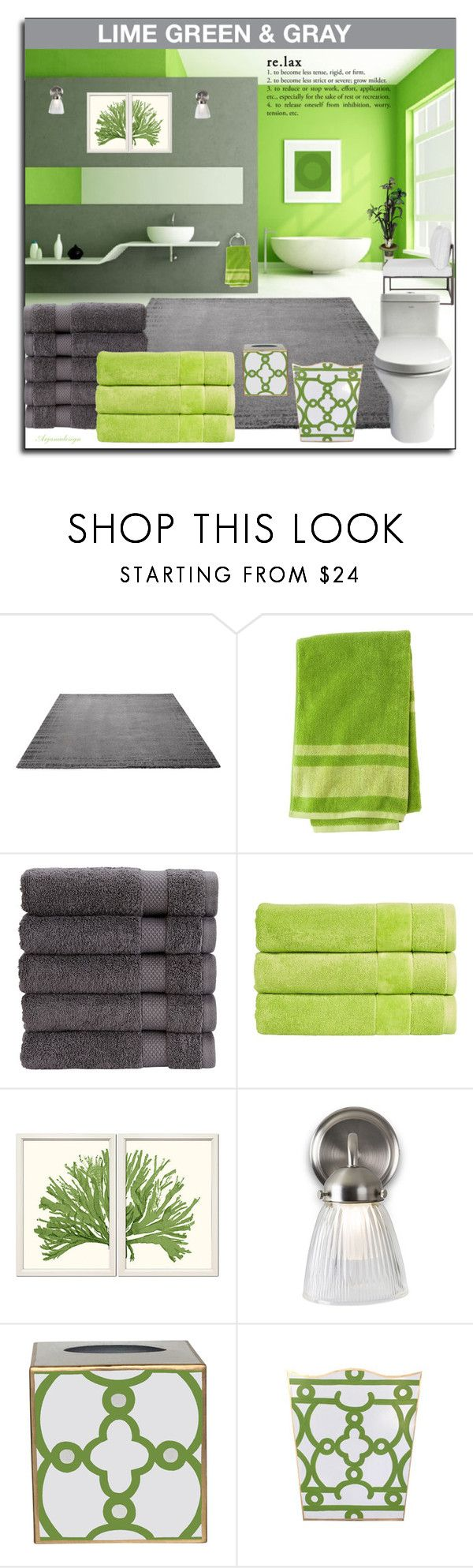 """""""BATHROOM COLOR CHALLENGE"""" by arjanadesign ❤ liked on Polyvore featuring interior, interiors, interior design, home, home decor, interior decorating, ESPRIT, Christy, William Stafford and Garden Trading"""