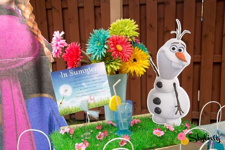 Frozen (Disney) Birthday Party Ideas | Photo 21 of 52 | Catch My Party