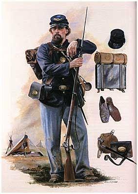 American Civil War Uniforms | American Civil War. Union Army [Brassey's History of Uniforms]
